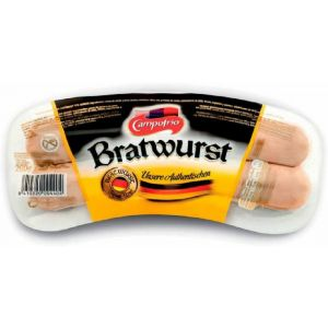 Salchichas alemanas bratwurst campofrio 260g