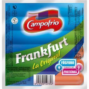 Salchichas frankfurt campofrio 6und 140g