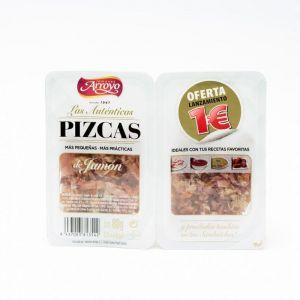 Pizcas de jamón curado arroyo pack de 2 unidades de 40g