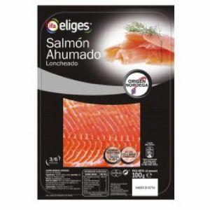 salmón ahumado ifa eliges lonchas 100g