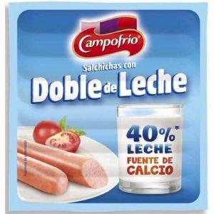 Salchichas frankfurt leche campofrio 8und 140g