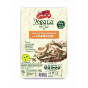 Lonchas vegetariana con esparragos vegalia 100g