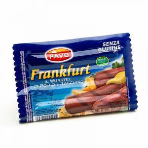 Salchichas frankfurt pavo aia 100g