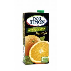 Zumo de naranja don simon brik 1l