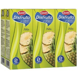 Nectar sin azucar de piña juver disfruta p-6 20cl