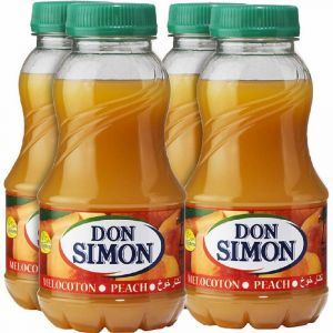 Nectar de melocoton don simon pet p-4 20cl