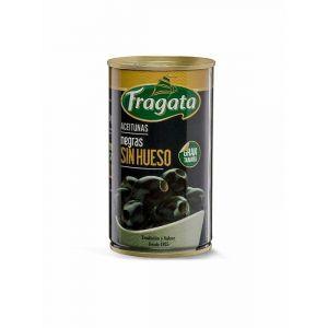 Aceituna negra sin hueso  fragata lata 150g