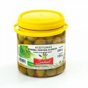 Aceituna verdial aliñada la salud 700g