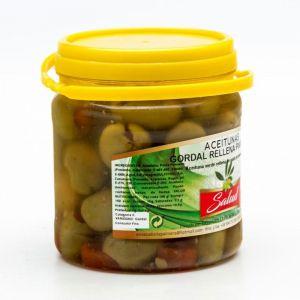 Aceituna gordal relleno de pimiento la salud bote 320g