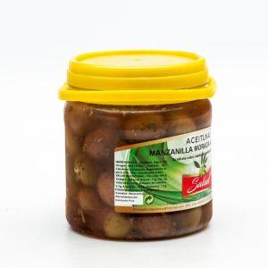 Aceituna manzanilla morada aliñada salud bote 720g