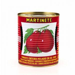 Tomate entero pelado  martinete 1k 810g ne