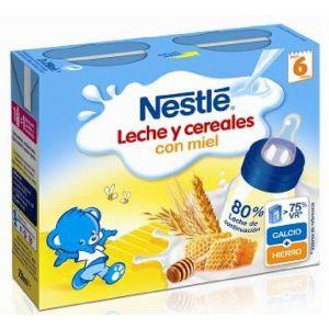 Papilla liq 8 cereales miel nestle  p2x500g