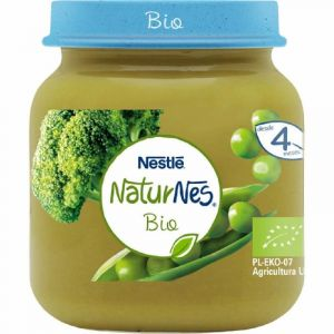 Tarrito bio guisante-brocoli naturnes 125gr