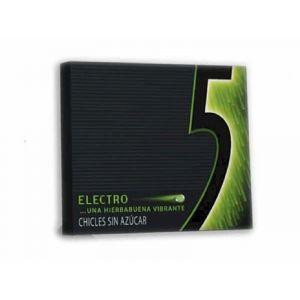 Chicles sin azucar hierbabuena five electro 12ud