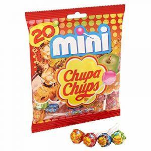 Caramelos con palo mini  chupa chups  20 ud