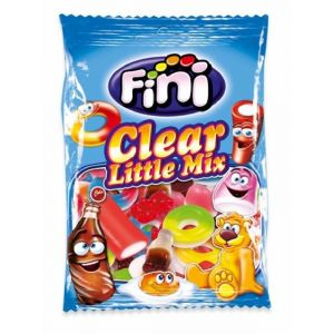 Gominolas clear little mix  fini  100g