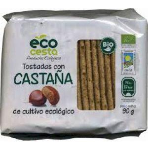 Tostadas de castañas bio ecocesta 90g