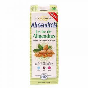 Bebida sin azucar almendras almendrola 1l