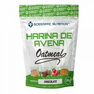 Harina de avena choco scientiffic nutrition 1kg