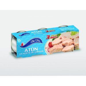 Atun aceite vegetal ola tuna ro85 p3x50gr ne