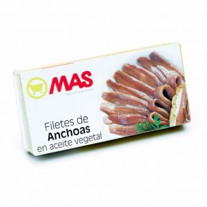 Anchoa  aceite girasol mas rr50 29g ne