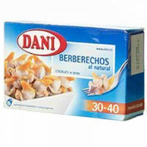 Dani berberecho natural 30/40ud 58g