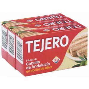 Caballa filete aceite de girasol tejero rr125 p3x85g ne