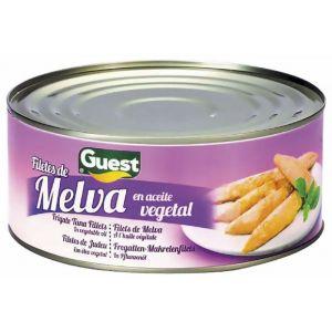 Melva filete aceite de girasol guest ro1000 650g ne