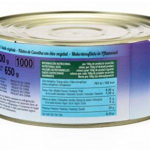 Caballa filete aceite de girasol guest rr125 85g ne