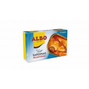 Sardina  salsa picantona albo rr125 85g ne