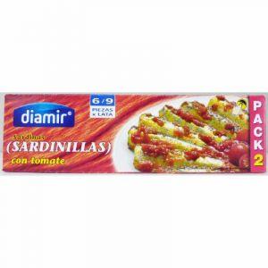 Sardinilla  tomate diamir 6/9 rr90 p2x60g ne