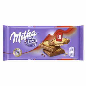 Chocolate  gallleta lu milka  87g