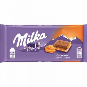 Chocolate  caramelo milka  100g
