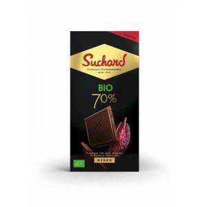 Chocolate negro 70% suchard bio  90g