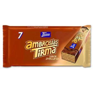 Chocolatina avellana ambrosia tirma p7x21,5g