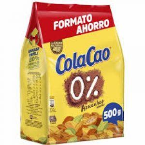 Cacao soluble 0% colacao bolsa 500 gr