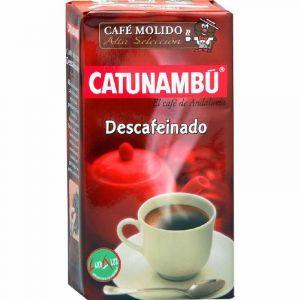 Cafe molido descafeinado catunambu 250 gr