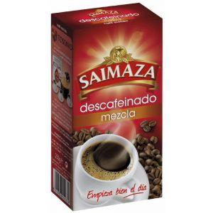 Cafe molido descafeinado mezcla saimaza 250 gr