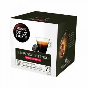 Cafe en capsulas espresso intenso descafeinado dolce gusto 16 capsulas
