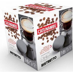 Cafe en capsulas ristretto catunambu compatible con dolce gusto 16 capsulas