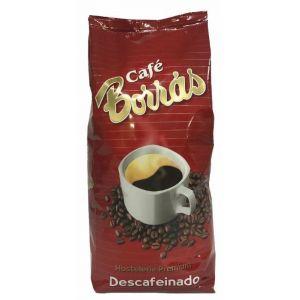 Cafe descafeinado grano natural borras