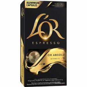 café caps sublimes or absolu lor 10 cap
