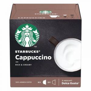 Café en cápsulas dolce gusto capuccino starbucks 12ud