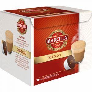 Cafe cortado marcilla 14 capulas ( compatibles con dolce gusto)