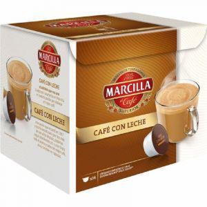 Cafe con leche marcilla 14capulas ( compatible dolce gusto)