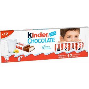 Chocolatina kinder chocolate t12 152g