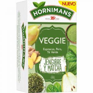 te verde jenjibre matcha hornimans veggies 20 sobres
