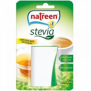 Edulcorante stevia natreen 120 pastillas