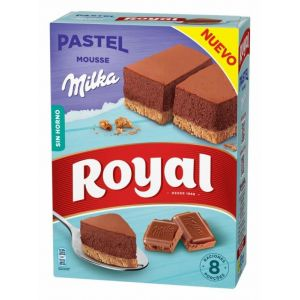 Pastel mousse milka royal 215g