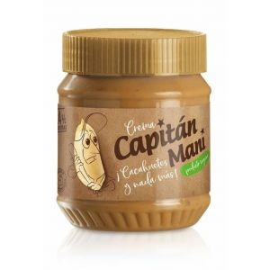 Crema chacahuete 100% capitan mani 340g